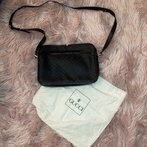 Authentic Gucci black shoulder bag